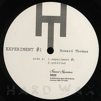 Cover art - Howard Thomas: Experiment #1