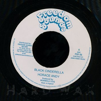 Cover art - Horace Andy: Black Cinderella
