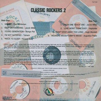 Cover art - Augustus Pablo: Classic Rockers 2