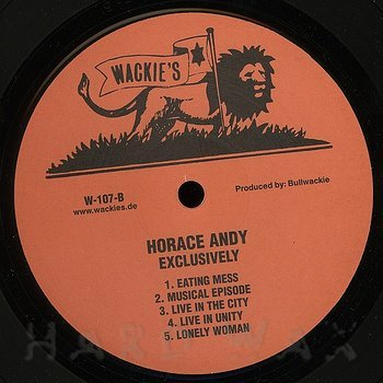 Cover art - Horace Andy: Exclusively