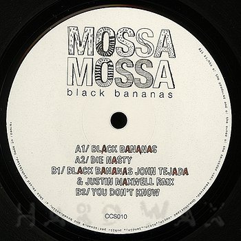 Cover art - Mossa: Black Bananas