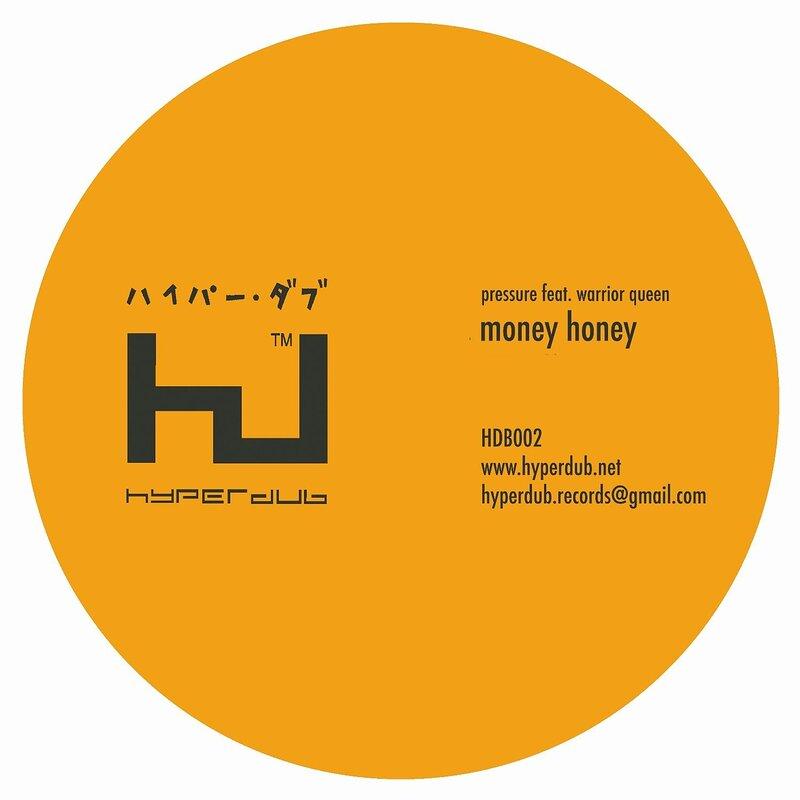 Cover art - Pressure feat. Warrior Queen: Money Honey