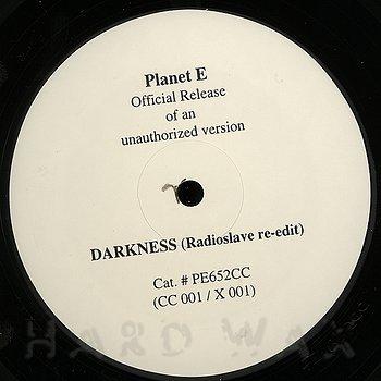 Cover art - Carl Craig: Darkness Radioslave Re-edit