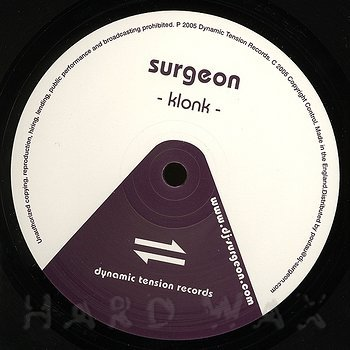 Cover art - Surgeon: Klonk