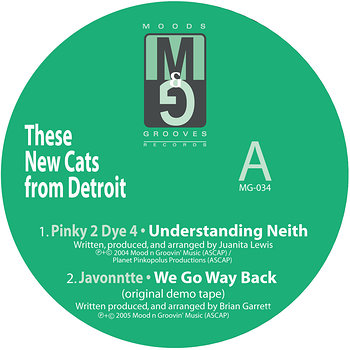 Cover art - Various Artists: These New Cats From Detroit