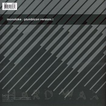 Cover art - Monolake: Plumbicon Versions I