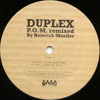 Cover art - Duplex: P.O.M. Remixed