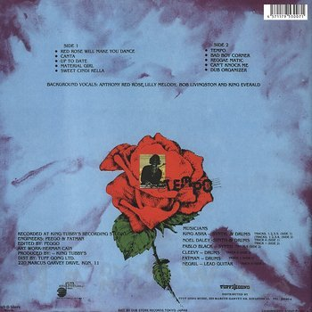 Cover art - Anthony Red Rose: Red Rose Will Make You Dance