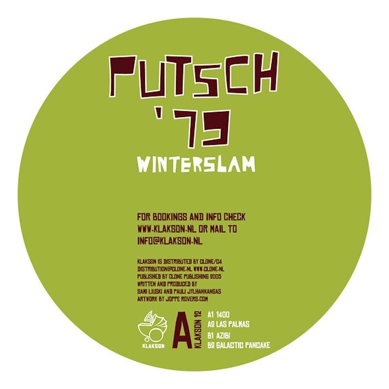 Cover art - Putsch '79: Winterslam