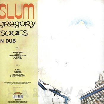 Cover art - Gregory Isaacs: Slum In Dub