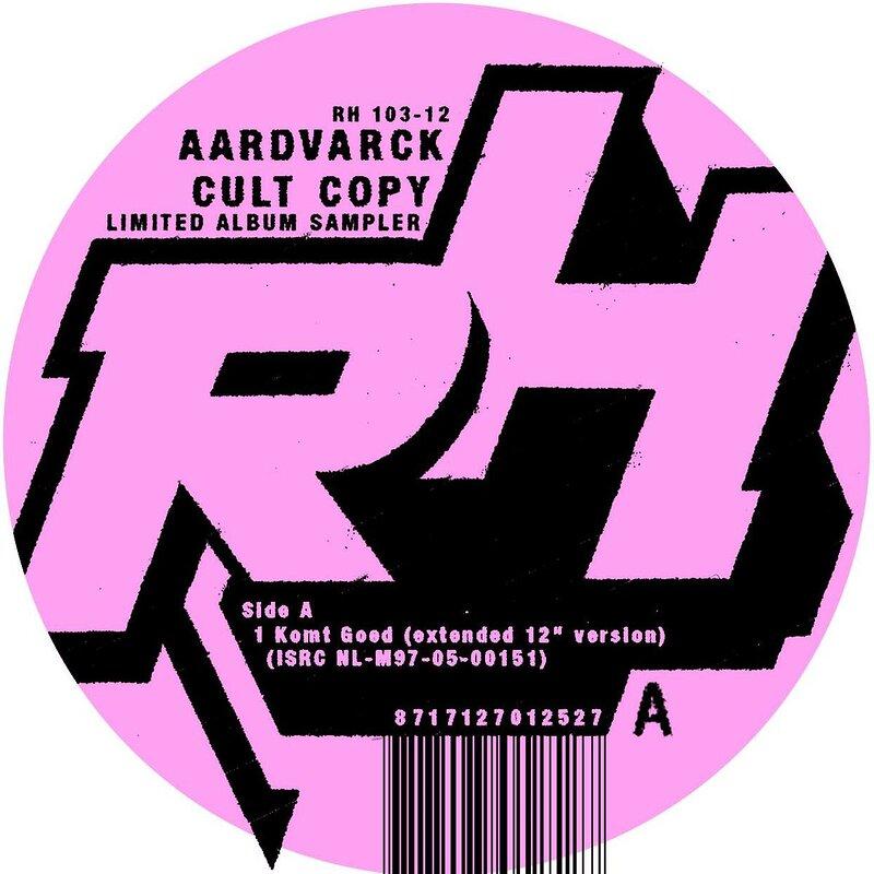 Cover art - Aardvarck: Cult Copy Sampler