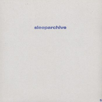 Cover art - Sleeparchive: Radio Transmission EP