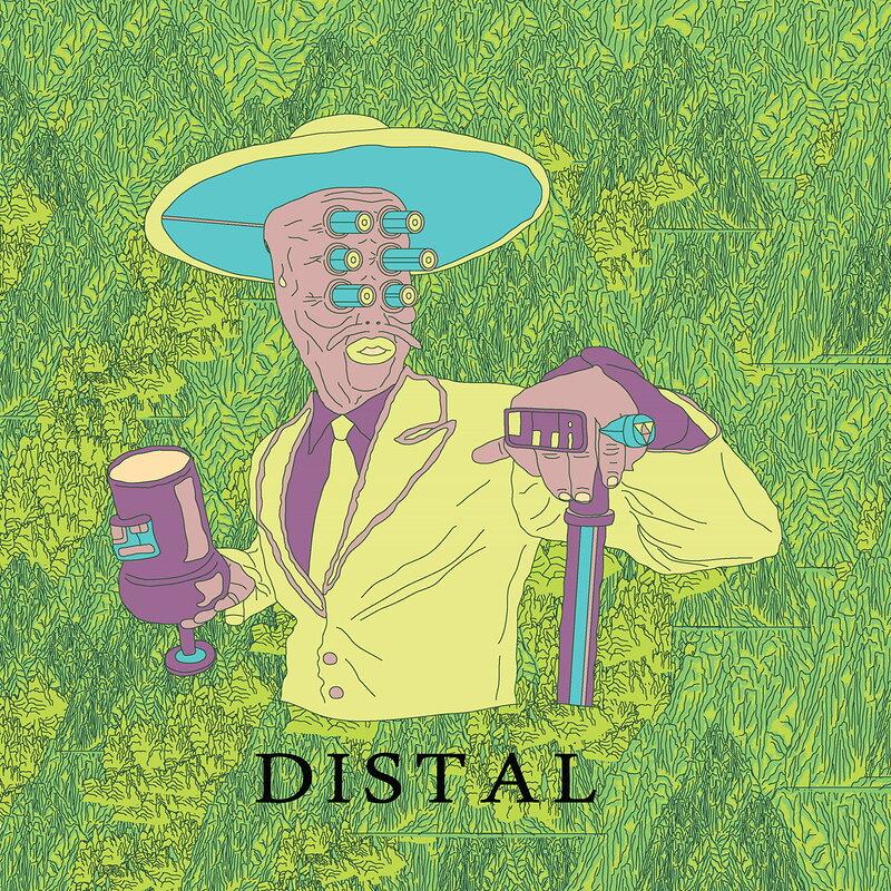 Cover art - Distal: Psychomagic