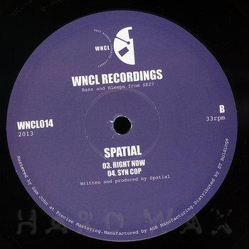 Cover art - Spatial: Spatial EP