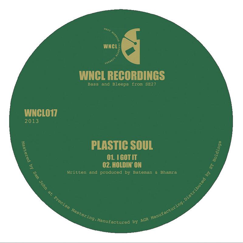 Cover art - Plastic Soul: I Got It EP