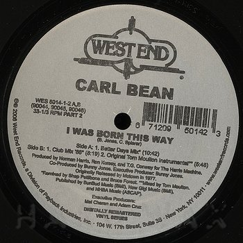 Cover art - Carl Bean: I Was Born This Way #2