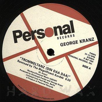 Cover art - George Kranz: Trommeltanz (Din Daa Daa)