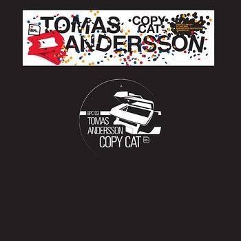 Cover art - Tomas Andersson: Copy Cat