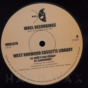 Cover art - West Norwood Cassette Library: Missing You EP
