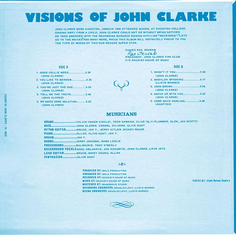 Cover art - John Clarke: Visions Of John Clarke