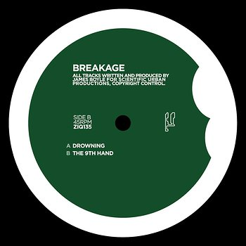 Cover art - Breakage: Drowning