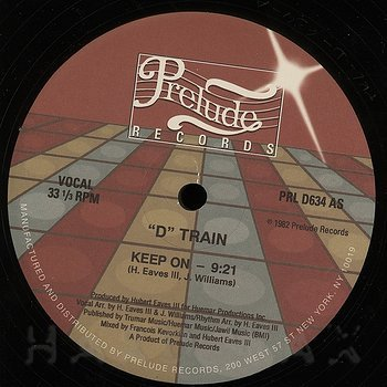 Cover art - D Train: Keep On