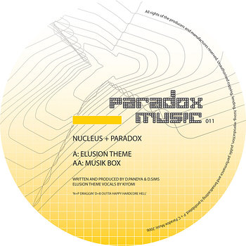Cover art - Nucleus & Paradox: Elusion Theme