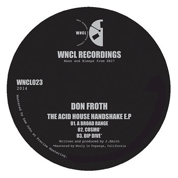 Cover art - Don Froth: The Acid House Handshake EP
