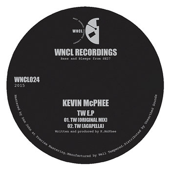 Cover art - Kevin McPhee: TW EP