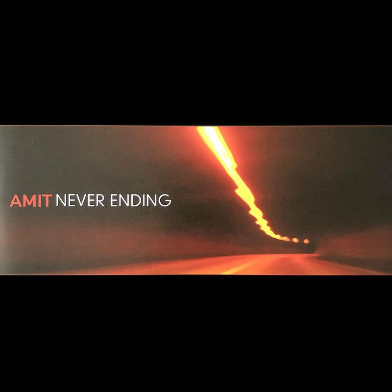 Cover art - Amit: Never Ending