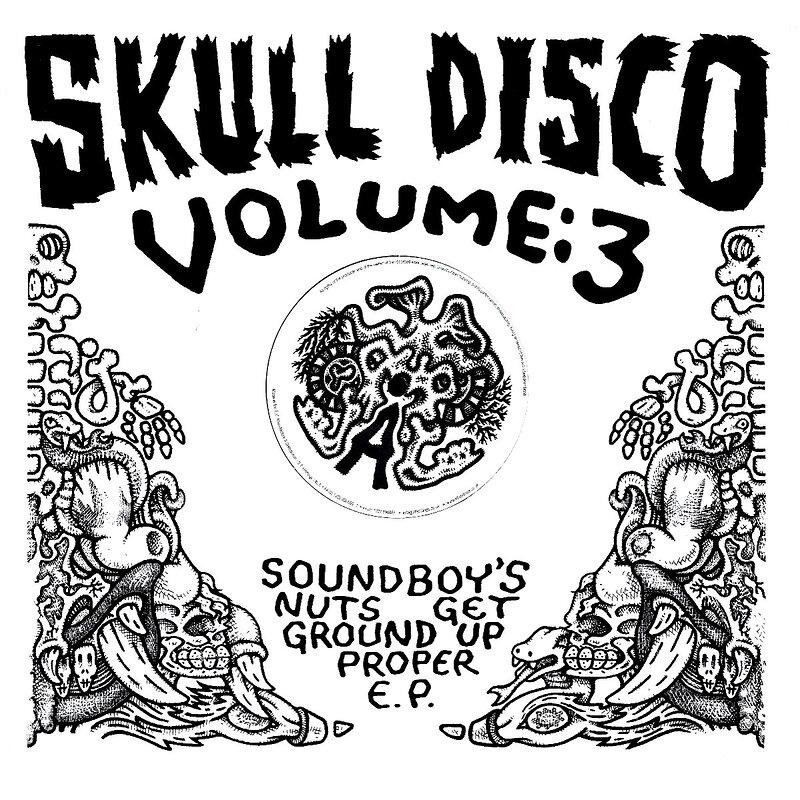 Cover art - Shackleton: Soundboy's Nuts Get Ground Up Proper EP