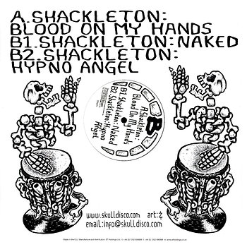 Cover art - Shackleton: Soundboy's Nuts Get Ground Up Proper EP