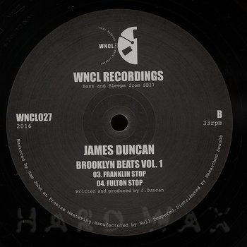Cover art - James Duncan: Brooklyn Beats, Vol. 1