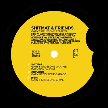 Cover art - Shitmat & Friends: Gary's Gruesome Remixes
