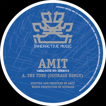 Cover art - Amit: The Tube Remix