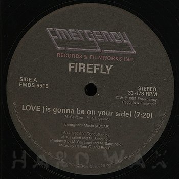 Cover art - Firefly / Kano: Love (Is Gonna Be On Your Side)