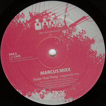 Cover art - Marcus Mixx: Shake That Thing