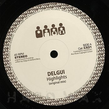 Cover art - Delgui: Highlights