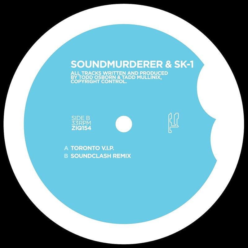 Cover art - Soundmurderer & SK-1: Toronto V.I.P.