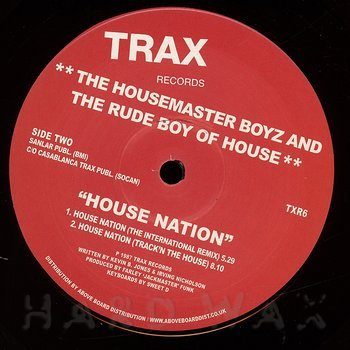 Cover art - The Housemaster Boyz & The Rude Boy Of House: House Nation