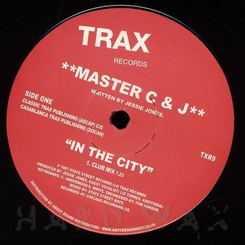 Cover art - Master C & J: In The City