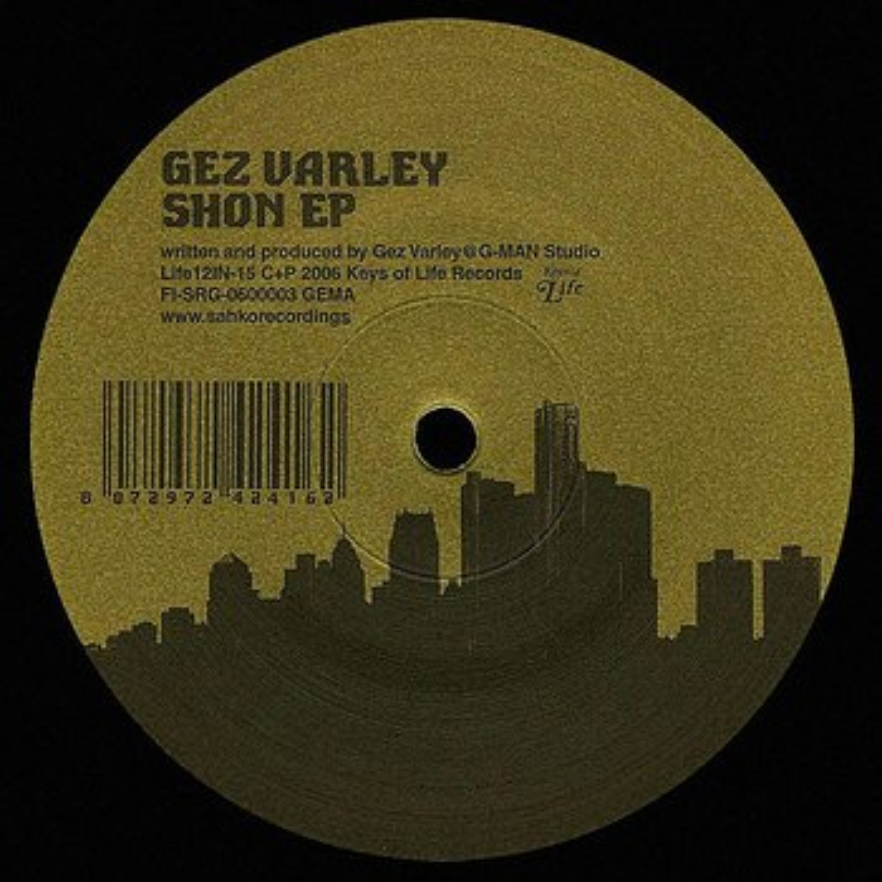 Cover art - Gez Varley: Shon EP