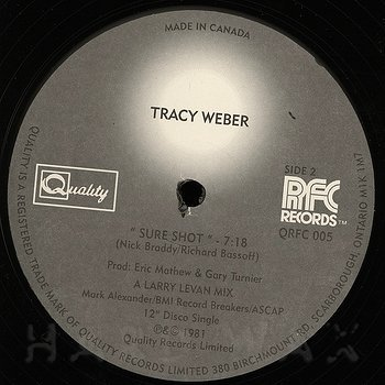 Cover art - Tracy Weber: Sure Shot