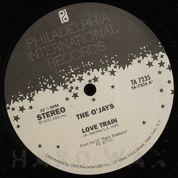 Cover art - The O'Jays: Love Train