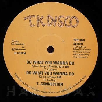 Cover art - T-Connection: Do What You Wanna Do