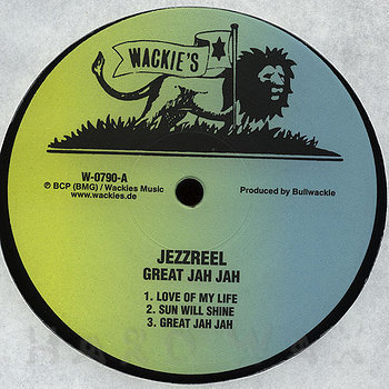 Cover art - Jezzreel: Great Jah Jah