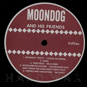 Cover art - Moondog: And His Friends