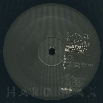 Cover art - Stanislav Tolkachev: When You Are Not At Home