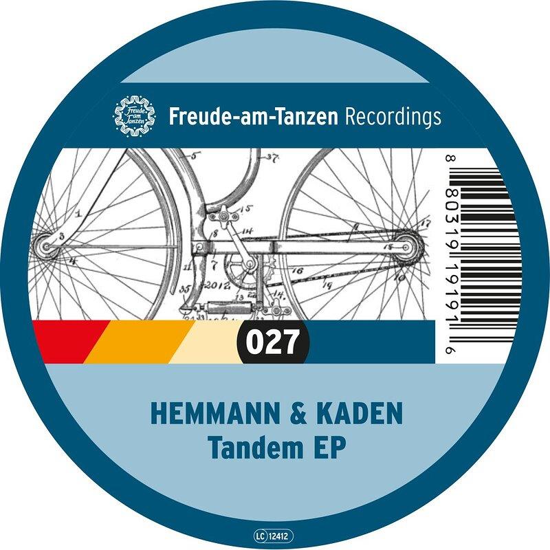 Cover art - Hemmann & Kaden: Tandem EP
