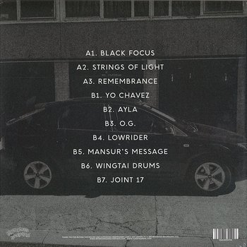 Cover art - Yussef Kamaal: Black Focus